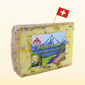 Heidi Blossom cheese with alpine herbs