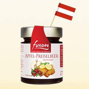 Furore Apple-cranberry sauce