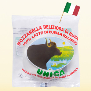 Unica Buffalo mozzarella D.O.P.