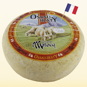 Ossau Iraty French sheep cheese A.O.C